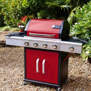 Red Landmann Barbecue