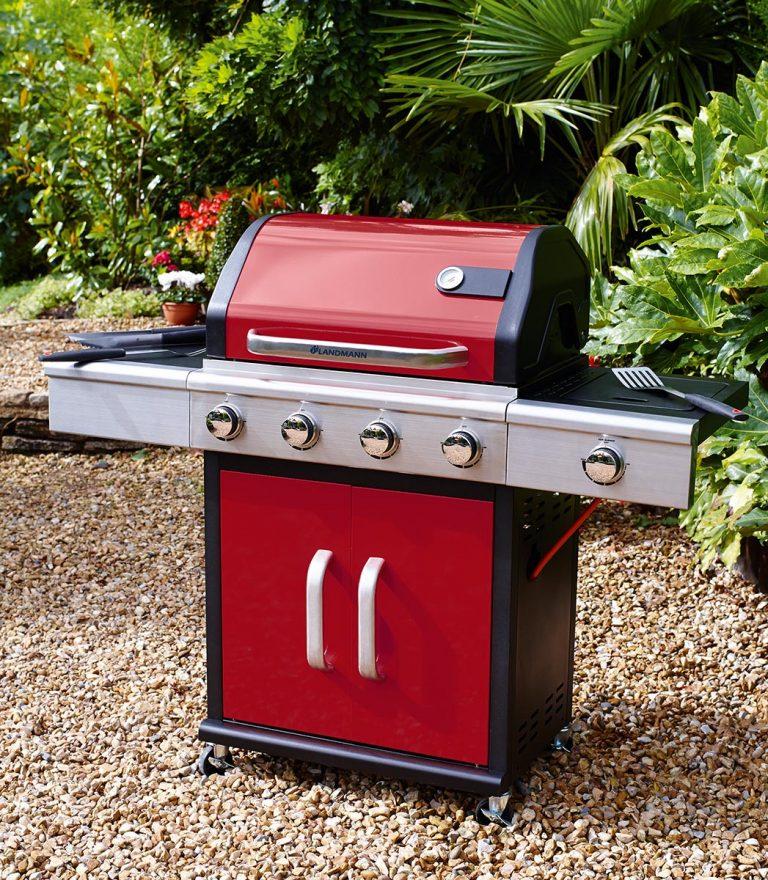 Red Landmann Barbecue