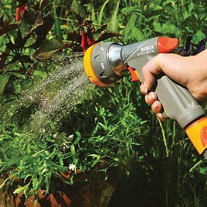 Handheld garden watering system