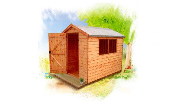 Garden shed diagram