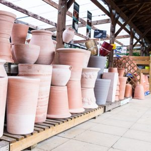 French terracotta selection