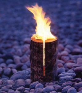 outdoor flame firelighter heater