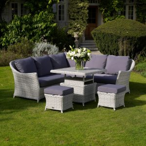Bramblecrest garden furniture sofa dining set