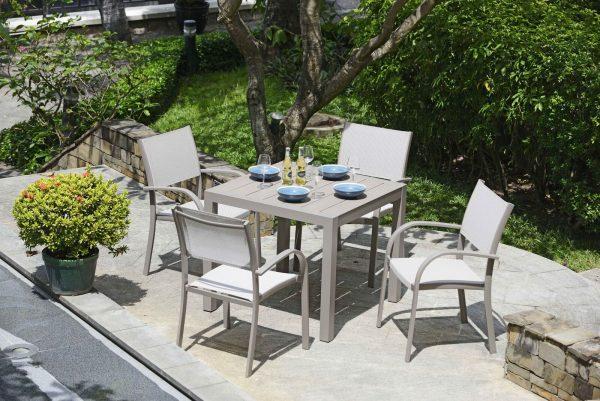 Morella 4 Seat dining set