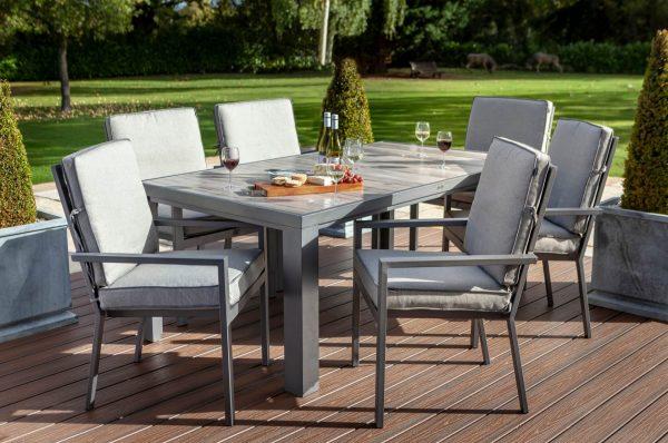 Titan 6 Seat rectangular dining set