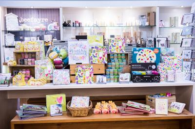 Ayletts gift shop spring display