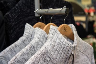 Clothing Jumpers Close Up