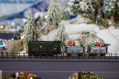 Model Village Santa Express