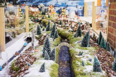 Model Village Stream