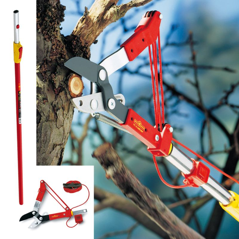 Wolf Garten Multi-Change® Anvil Tree Lopper & Telescopic Handle 1.7-3m