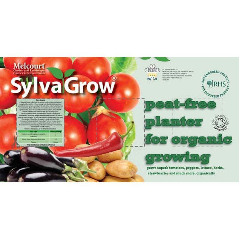 SylvaGrow® Peat-Free Planter for Organic Growing 45ltr