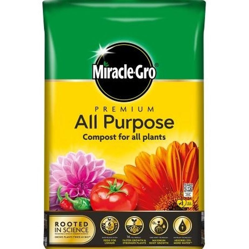 Miracle-Gro® Premium All Purpose Compost 40ltr
