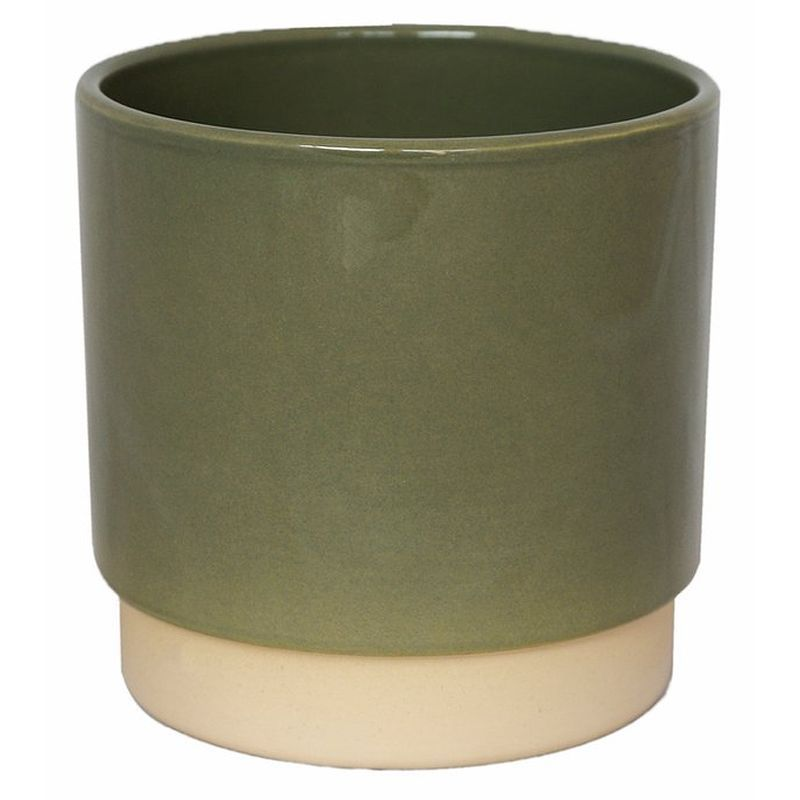 Ivyline Eno Pot in Green, 10cm