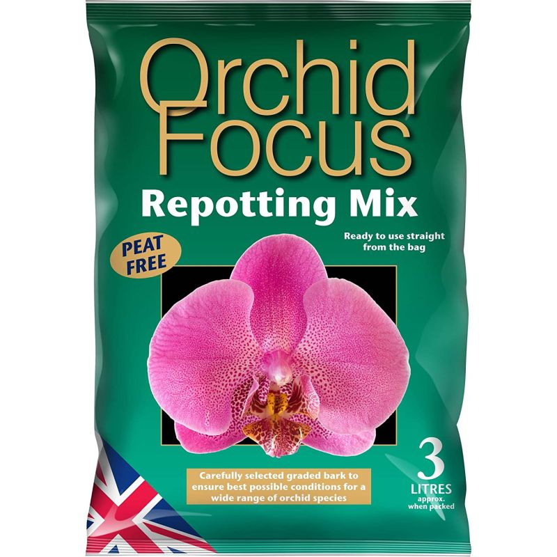 Orchid Focus Repotting Mix 3ltr