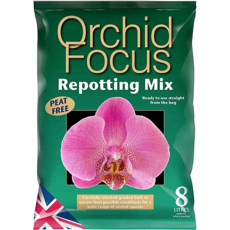 Orchid Focus Repotting Mix 8ltr