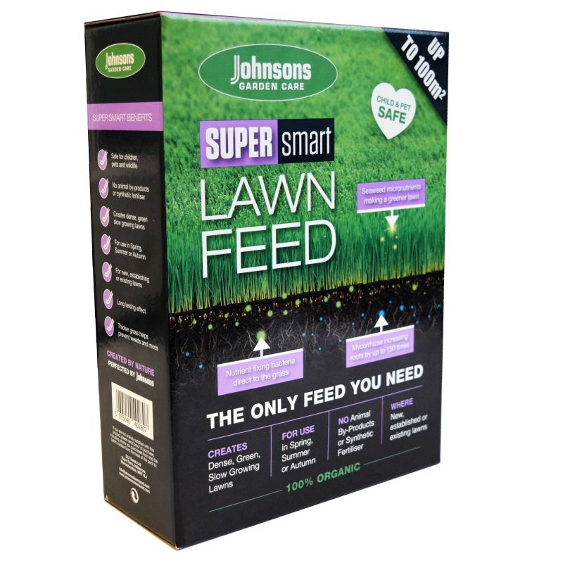 Johnsons Super Smart Lawn Feed - 1kg