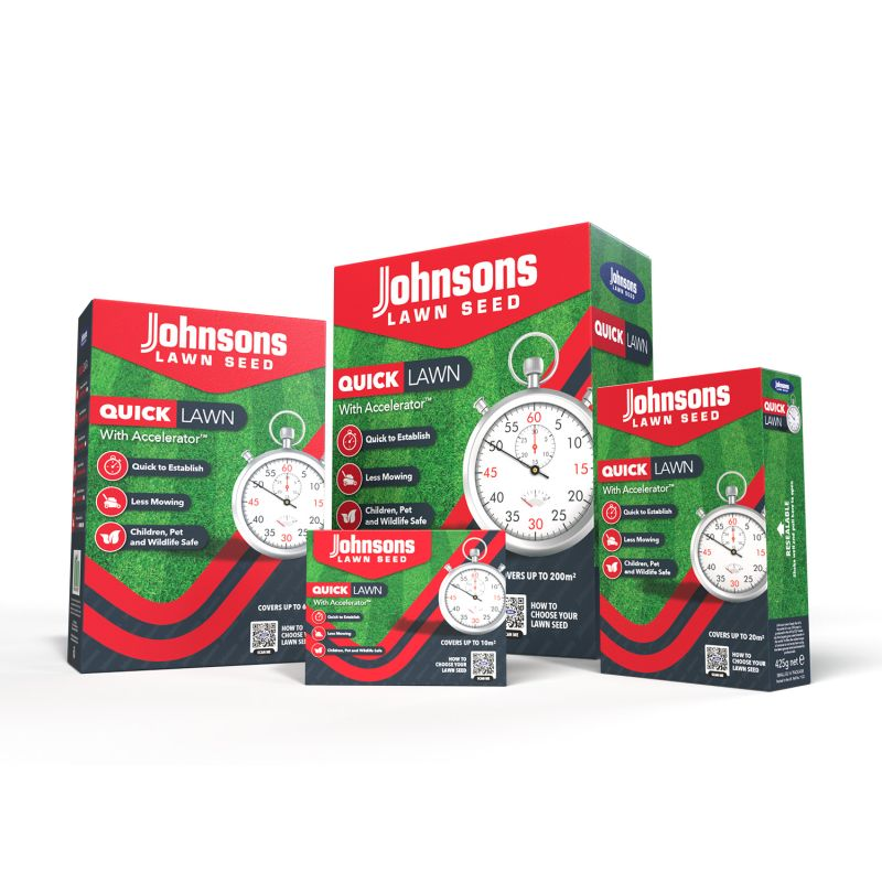 Johnsons Lawn Seed - Quick Lawn